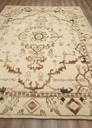 rugsville tribal beni ourain hand knotted moroccan rug 8 x 11