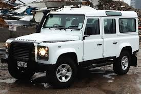 land rover defender 110 2014. land rover defender 110 station wagon offroad workhorse icon feels completely at home 2014