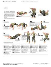 Military Workout Chart Takes Me Back To Basic Training Workouts In The Army I Was