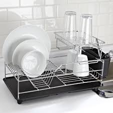 Plastic Coating For Dishwasher Rack Decoration Two Tier Dish Drainer Ikea Dish Racks And Drainers 73