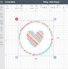 Is there a way to draw multiple shapes in a circular. Draw Designs With Cricut And Basic Shapes 100 Directions