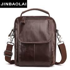 <b>Messenger Bag Men Shoulder bag</b> Cowhide Genuine Leather Small ...