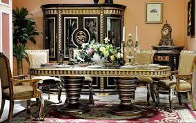 european style home furniture wooden dining room set dws9100