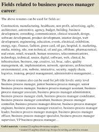 ... 16. Fields related to business process manager ...