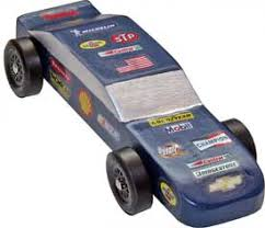 pinewood derby race cars nascar decal for pinewood derby cars