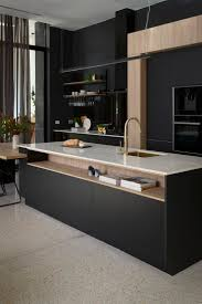 Terrific 30 Best Black Kitchen Cabinets Design Ideas With At ...