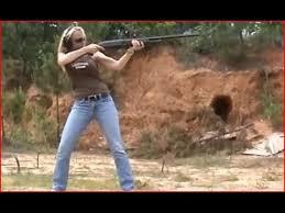 Massive Recoil Blond Shooting 10 Gauge 12 Gauge 20 Gauge And 410