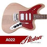 com alston guitars diy electric guitar kit bolt on alston guitars diy electric guitar kit bolt on solid mahogany body