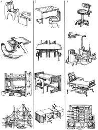 Реферат Проектирование оборудования для дошкольных учреждений  Типы мебели для детских учреждений а детских садов б учебных классов в медицинских учреждений