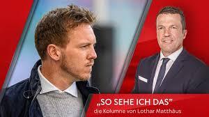 Matthäus s'inscrit dans le club de football local de la petite ville de herzogenaurach, connue pour accueillir sur son territoire le siège de l'entreprise adidas. Kolumne Lothar Matthaus Uber Hansi Flick Fc Bayern Und Nagelsmann Fussball News Sky Sport