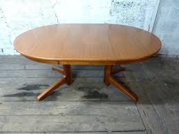 extending dining tables vintage mid century danish table extendable round danish dining table