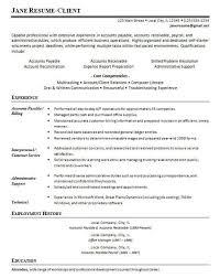 Accounts Payable Resume Objective Accounts Payable Resume Objective