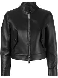 dsquared2 cropped leather jacket black 900 women clothing jackets dsquared suit dsquared biker jeans
