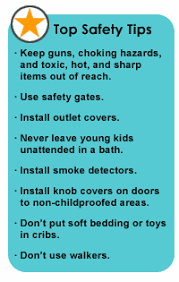 childproofing and preventing household accidents safety tips