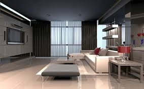 Living Room 3d Design Pictures Living Room 3d Graphics High Tech Style Room Interior