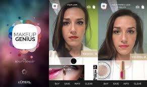 makeup genius app android gratismakeup genius the makeup revolution l oréal paris