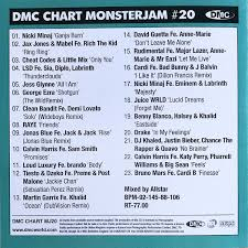 Dmc Chart Monsterjam 16 Dmc Monsterjam Chart 20 August 2018 Dj Music Dj Music