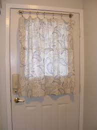 front door window coveringsMore Knoeladge Front Door Window Curtains