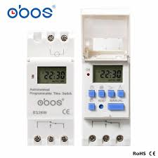 <b>Astronomical programmable time switch</b> BS26W AC220V ...