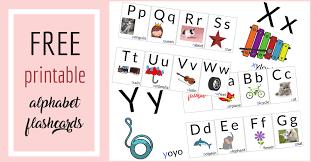 Free Alphabet Flash Cards Free Alphabet Printables For Toddlers Kingascorner