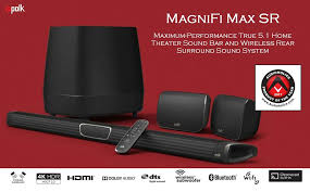 Image result for polk magnifi max sr 5.1 soundbar system