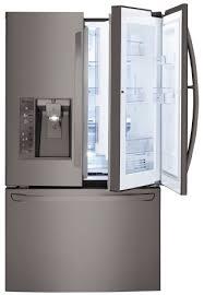 lg black stainless steel refrigerator. LFXS30766D LG Black Stainless Steel Series 36\ Lg Refrigerator
