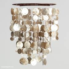 picture 9 of 36 shell pendant light awesome chandeliers design inside capiz shell chandelier plan