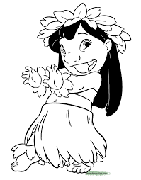 Small Picture Lilo and Stitch Printable Coloring Pages 2 Disney Coloring Book