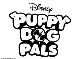 Bingo And Rolly Puppy Dog Pals Coloring Pages Birthday Page Coming