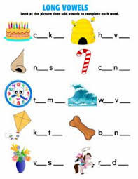 Students must circle the pictures of words with long vowel sounds. Long Vowels Worksheets And Online Exercises