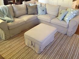 Machine Washable Rugs For Living Room Ikea Ektorp Sectional In Risane Natural The Cover Is Removable