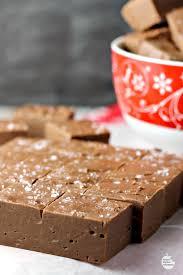 easy salted chocolate caramel fudge