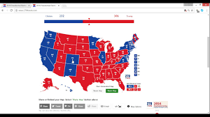 2016 Election Results Reaction My Prediction Vs Final Results