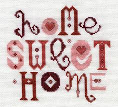 Small Picture home sweet home cross stitch kit by stitchkits