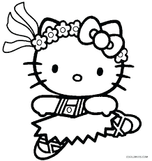 Free Hello Kitty Coloring Pages Bahamasecoforum Com