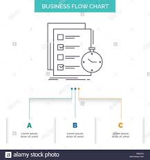 To Do List Charts Todo Task List Check Time Business Flow Chart Design With 3