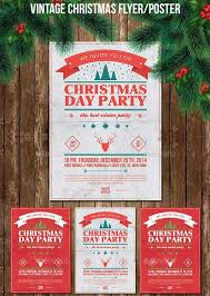 christmas event flyer template christmas party poster flyer vol 1 christmas pinterest