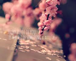 Something Beautiful Quotes Best of Every Piece Of You Is A Burst Of Something Beautiful Beauty