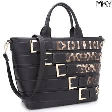leather designer shoulder handbag removable