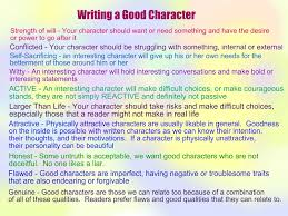 about good character essay about good character