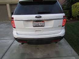2012 F250 Light Bulb Chart How To Replace A Tail Light For A 2011 2015 Ford Explorer