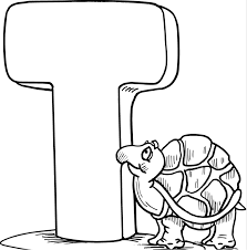 Small Picture T Coloring Page Coloring Book