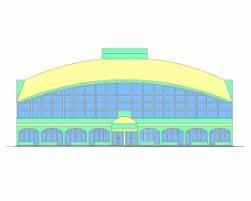 Скачать бесплатно дипломный проект ПГС Диплом №  Диплом №5020 Реконструкция продовольственного рынка в г Казань