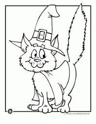 Small Picture Halloween Coloring Pages Black Cat Coloring Pages