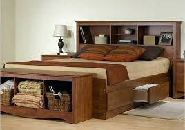 Wood Full Bed Frame Full Size Bed Frame With Storage Plans ...