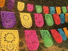 Cinco de Mayo Banner Papel Picado Party ...