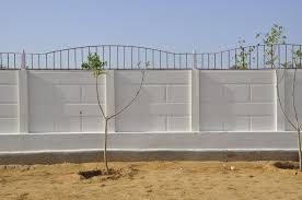 Small Picture BIGGEST Manufacturer of PRECAST BOUNDARY WALL COMPOUND WALL RCC