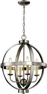trans globe 70594 bn laurence contemporary brushed nickel 19 nbsp pendant lighting loading zoom