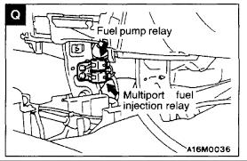 ai have a mitsubishi mirage intermitten fuel pressure loss have graphic