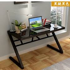stylish home office furniture. Table Desktop Computer Desk Study Simple And Stylish Home Office Notebook Glass Type Z Furniture